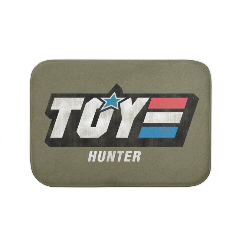 Toy Hunter - Joe Flavor Home Bath Mat by Gamma Bomb - A Celebration of Imagination
