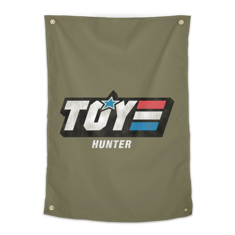 Toy Hunter - Joe Flavor Home Tapestry by Gamma Bomb - Explosively Mutating Your Look