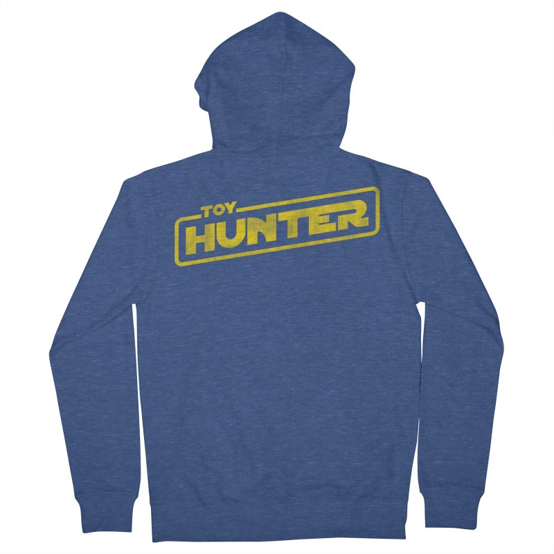 Toy Hunter - Force Flavor Men's French Terry Zip-Up Hoody by Gamma Bomb - Explosively Mutating Your Look