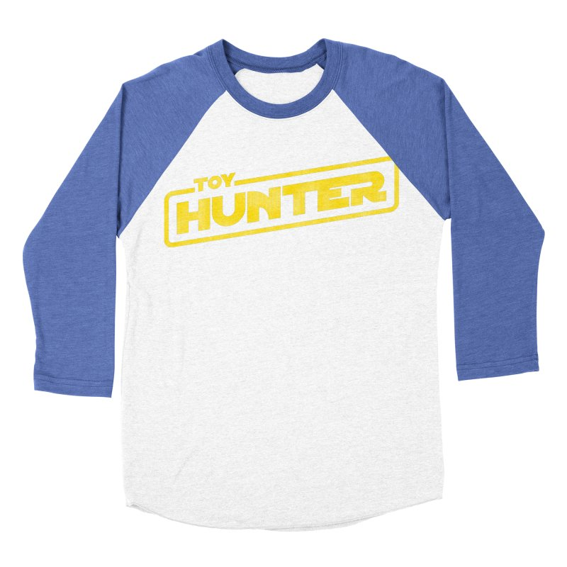 Toy Hunter - Force Flavor Women's Baseball Triblend Longsleeve T-Shirt by Gamma Bomb - Explosively Mutating Your Look