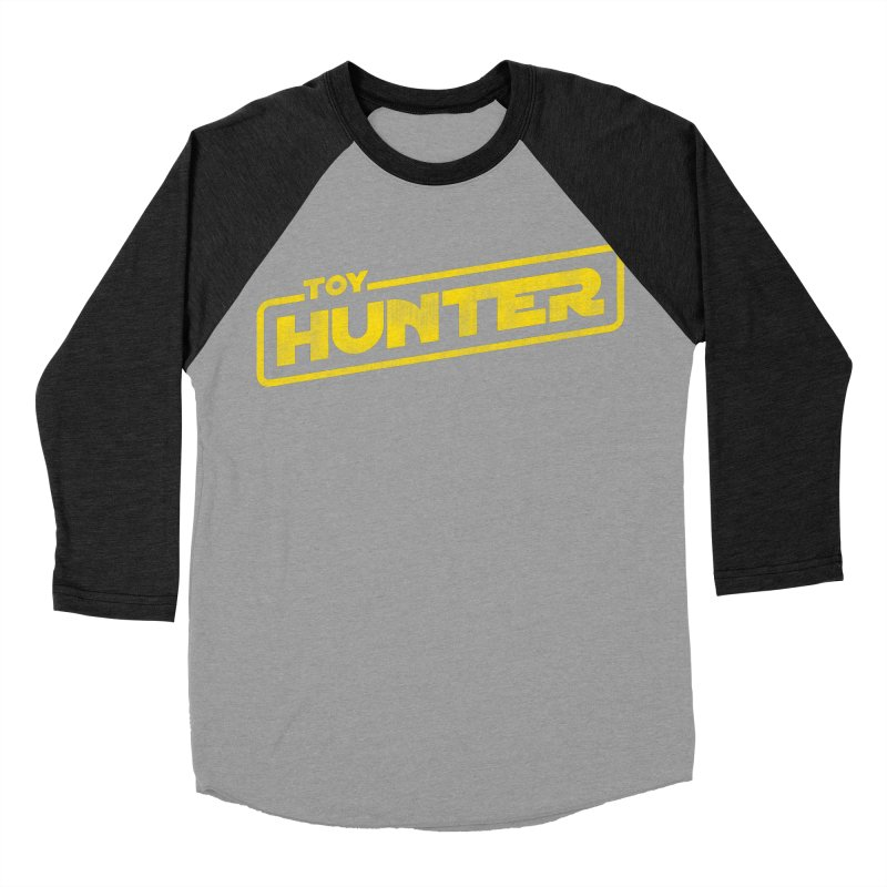 Toy Hunter - Force Flavor Men's Baseball Triblend Longsleeve T-Shirt by Gamma Bomb - Explosively Mutating Your Look