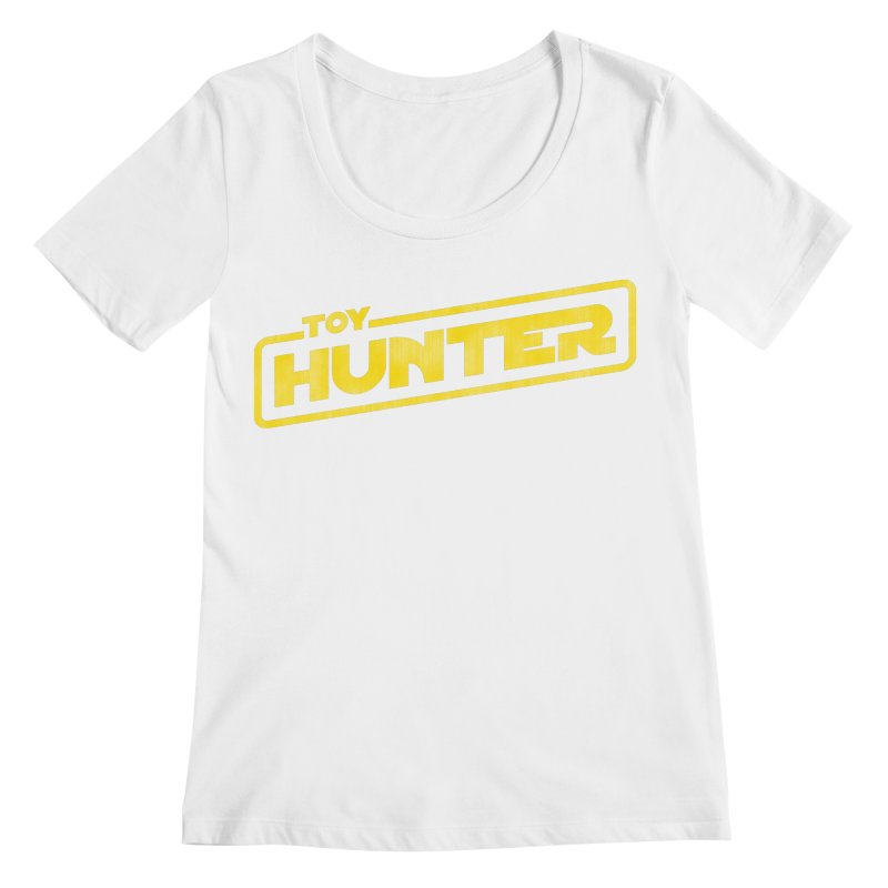 Toy Hunter - Force Flavor Women's Regular Scoop Neck by Gamma Bomb - Explosively Mutating Your Look