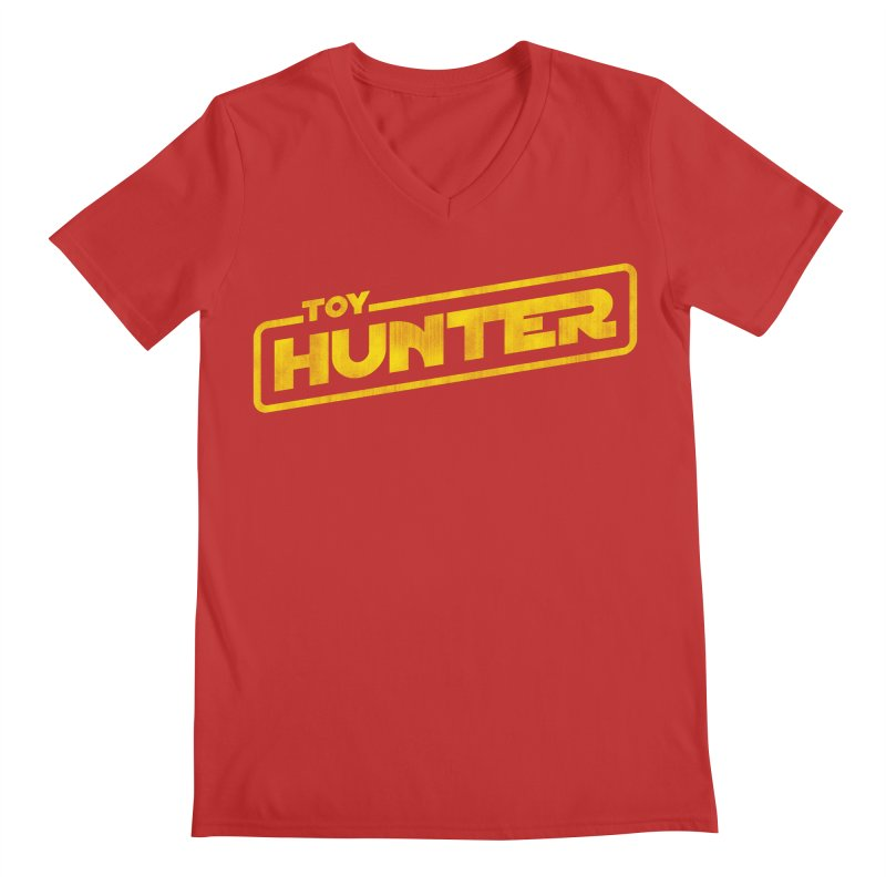Toy Hunter - Force Flavor Men's Regular V-Neck by Gamma Bomb - Explosively Mutating Your Look