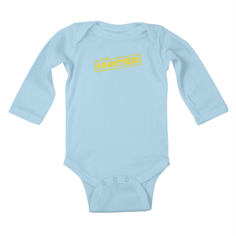 Toy Hunter - Force Flavor Kids Baby Longsleeve Bodysuit by Gamma Bomb - Explosively Mutating Your Look