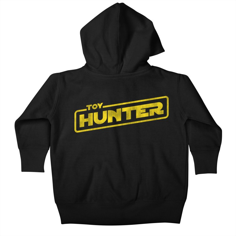 Toy Hunter - Force Flavor Kids Baby Zip-Up Hoody by Gamma Bomb - A Celebration of Imagination