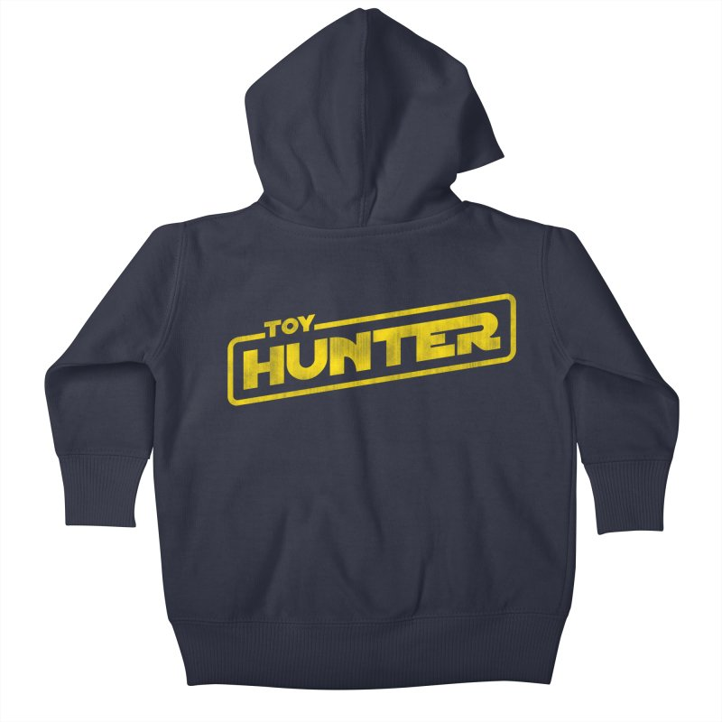 Toy Hunter - Force Flavor Kids Baby Zip-Up Hoody by Gamma Bomb - Explosively Mutating Your Look