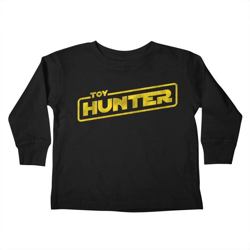 Toy Hunter - Force Flavor Kids Toddler Longsleeve T-Shirt by Gamma Bomb - Explosively Mutating Your Look