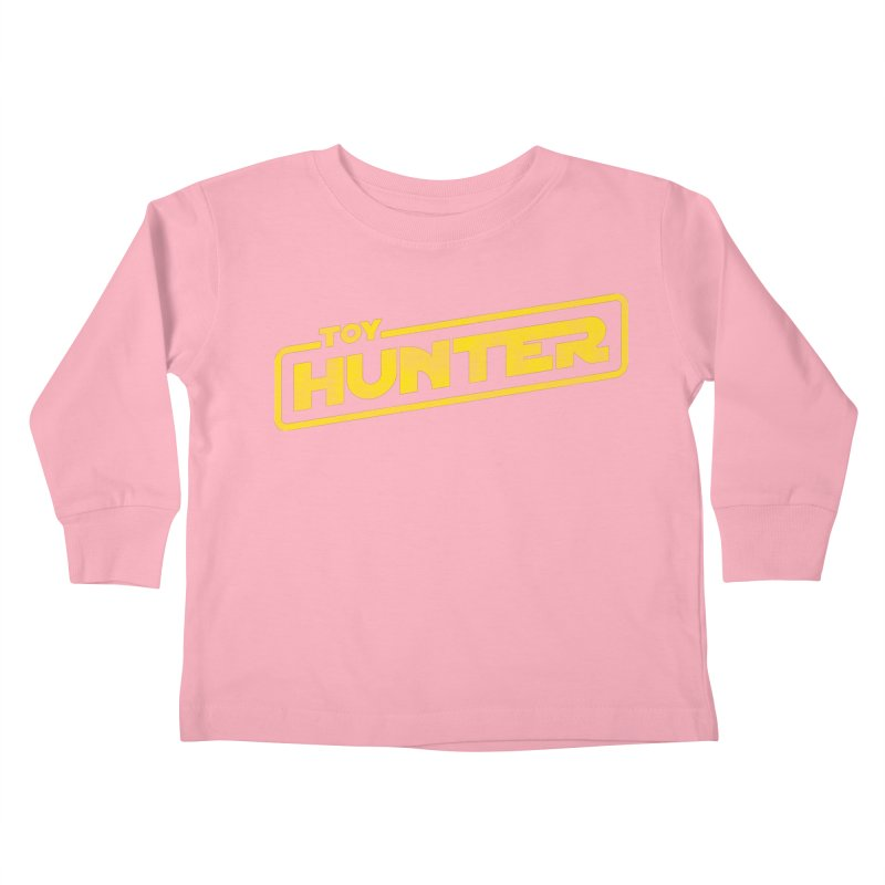 Toy Hunter - Force Flavor Kids Toddler Longsleeve T-Shirt by Gamma Bomb - A Celebration of Imagination