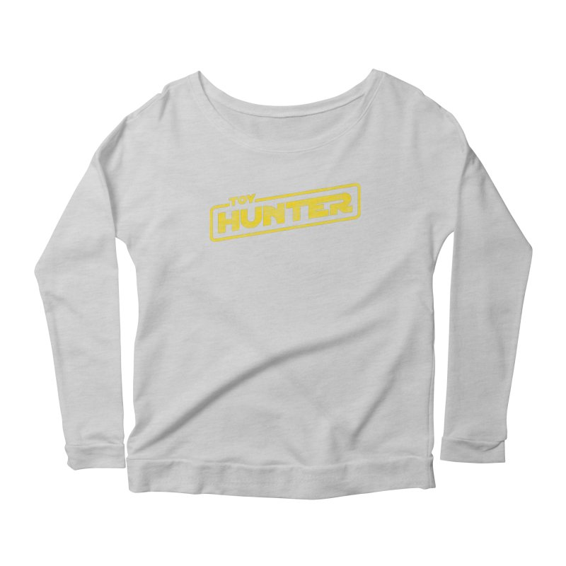 Toy Hunter - Force Flavor Women's Scoop Neck Longsleeve T-Shirt by Gamma Bomb - Explosively Mutating Your Look