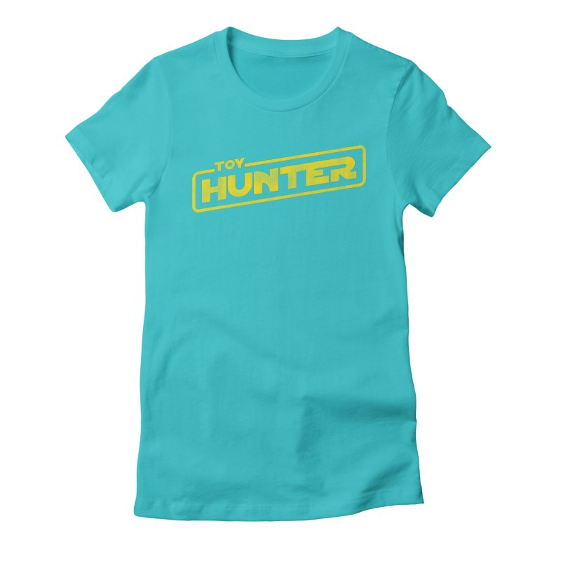 Toy Hunter - Force Flavor Women's Fitted T-Shirt by Gamma Bomb - A Celebration of Imagination