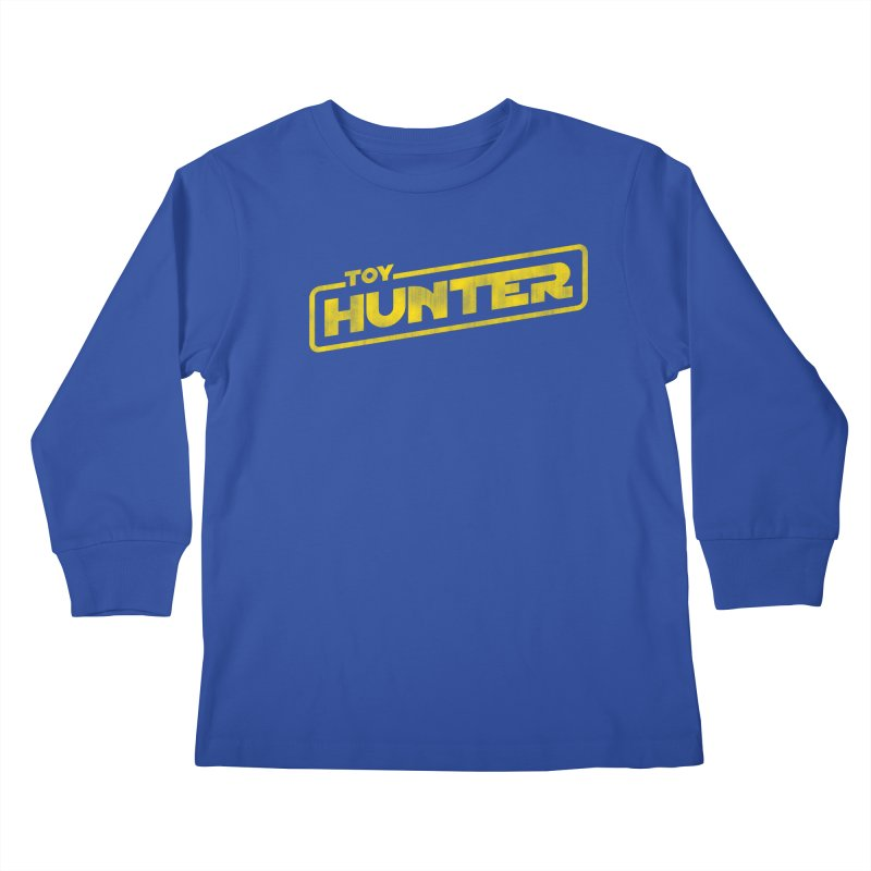 Toy Hunter - Force Flavor Kids Longsleeve T-Shirt by Gamma Bomb - Explosively Mutating Your Look