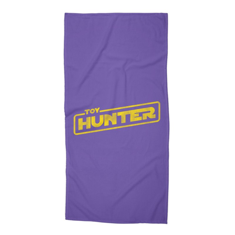 Toy Hunter - Force Flavor Accessories Beach Towel by Gamma Bomb - Explosively Mutating Your Look