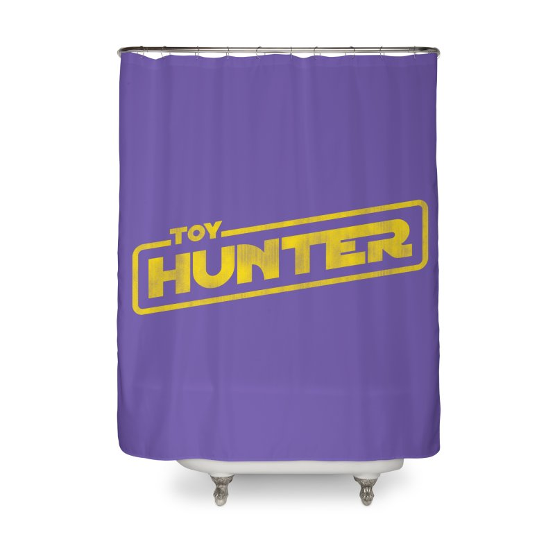 Toy Hunter - Force Flavor Home Shower Curtain by Gamma Bomb - A Celebration of Imagination