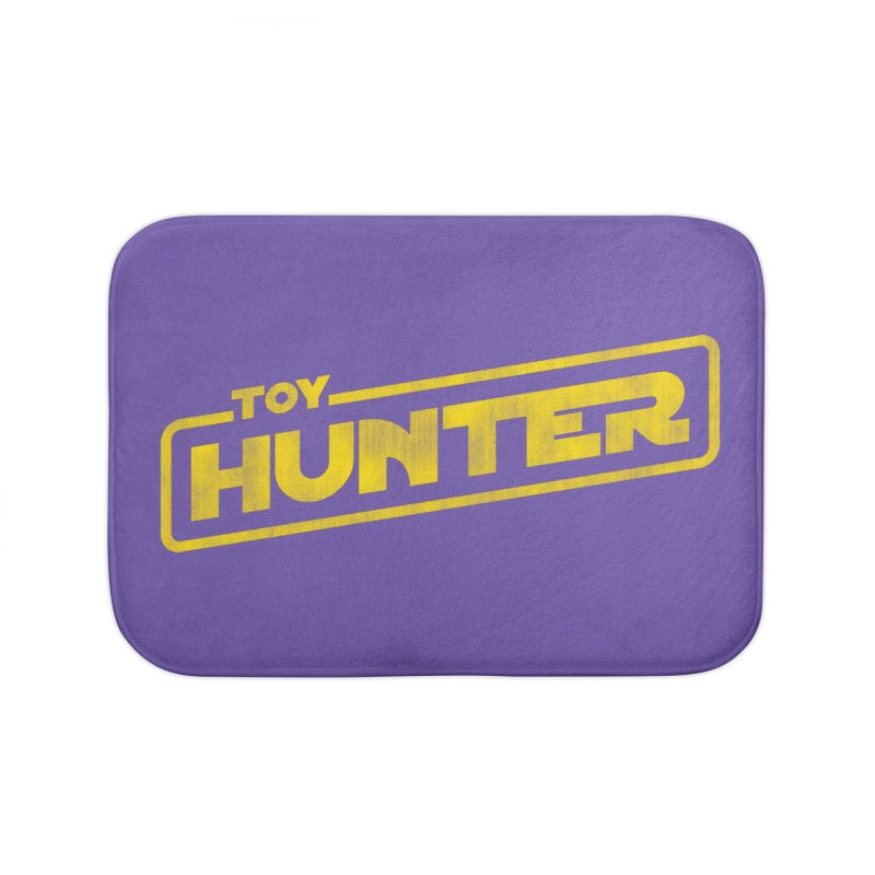 Toy Hunter - Force Flavor Home Bath Mat by Gamma Bomb - A Celebration of Imagination