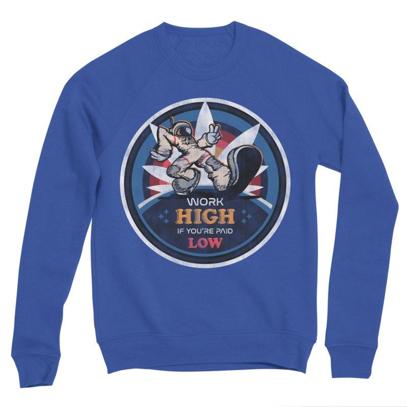 Keep On Grindin' Men's Sponge Fleece Sweatshirt by Gamma Bomb - Explosively Mutating Your Look