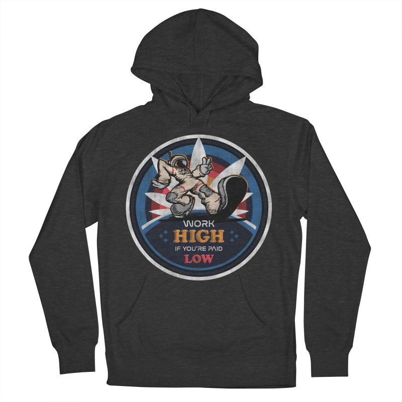 Keep On Grindin' Women's French Terry Pullover Hoody by Gamma Bomb - A Celebration of Imagination