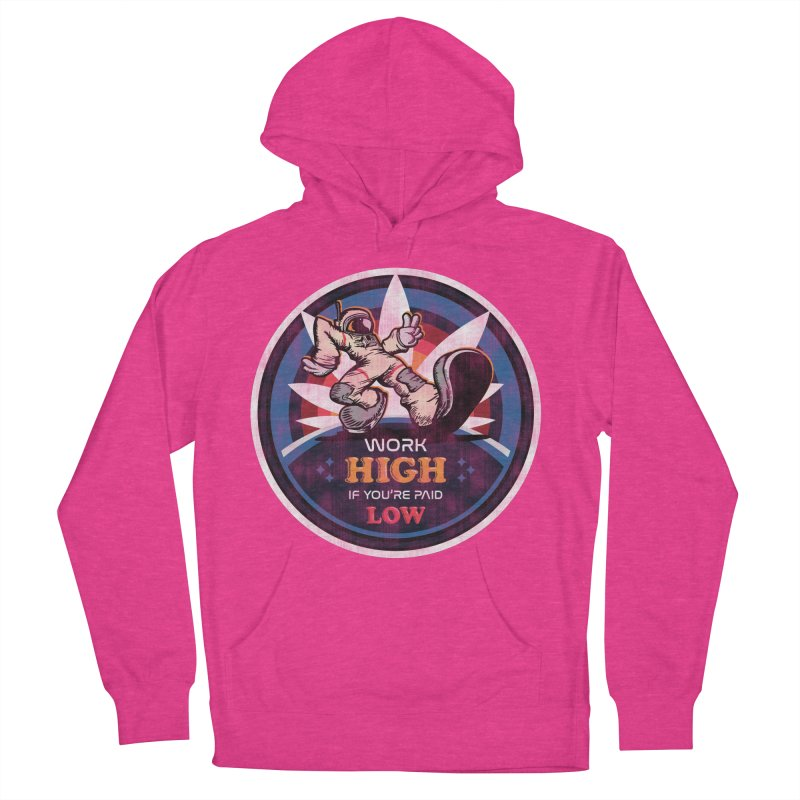 Keep On Grindin' Women's French Terry Pullover Hoody by Gamma Bomb - Explosively Mutating Your Look