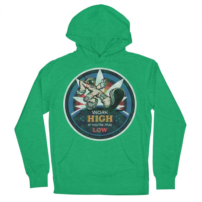 Keep On Grindin' Men's French Terry Pullover Hoody by Gamma Bomb - Explosively Mutating Your Look