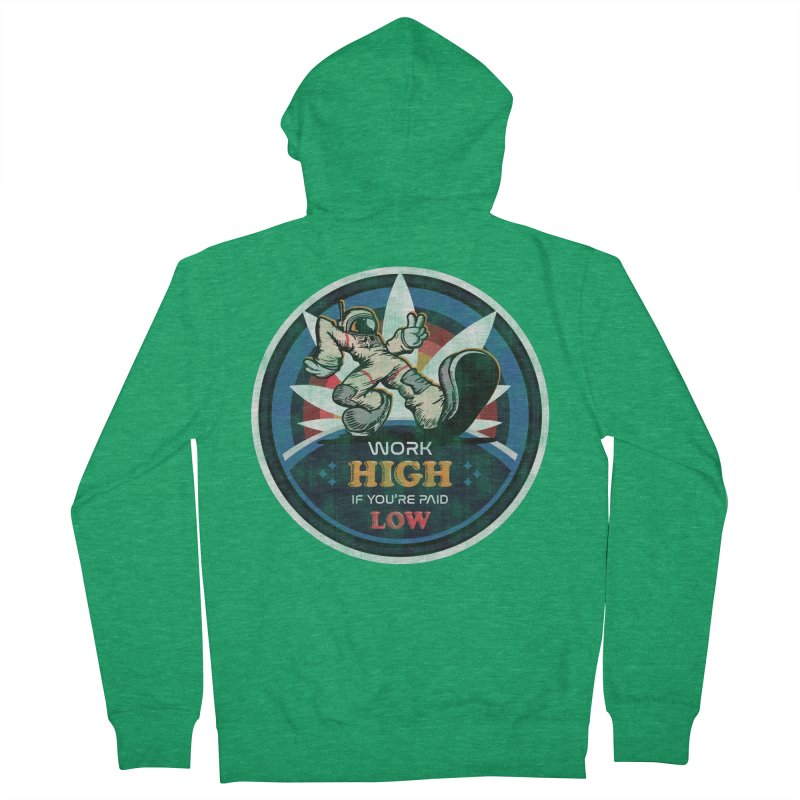 Keep On Grindin' Women's Zip-Up Hoody by Gamma Bomb - Explosively Mutating Your Look