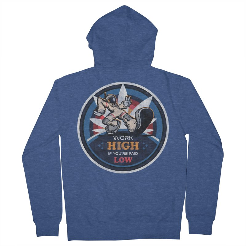 Keep On Grindin' Men's French Terry Zip-Up Hoody by Gamma Bomb - Explosively Mutating Your Look