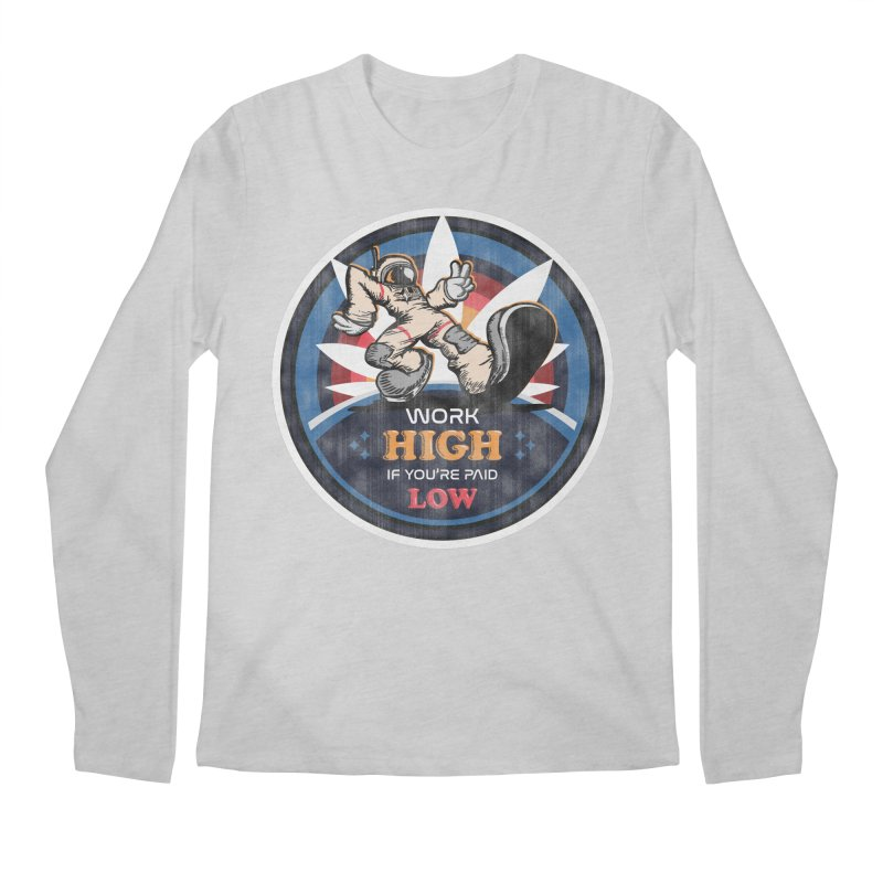 Keep On Grindin' Men's Regular Longsleeve T-Shirt by Gamma Bomb - Explosively Mutating Your Look