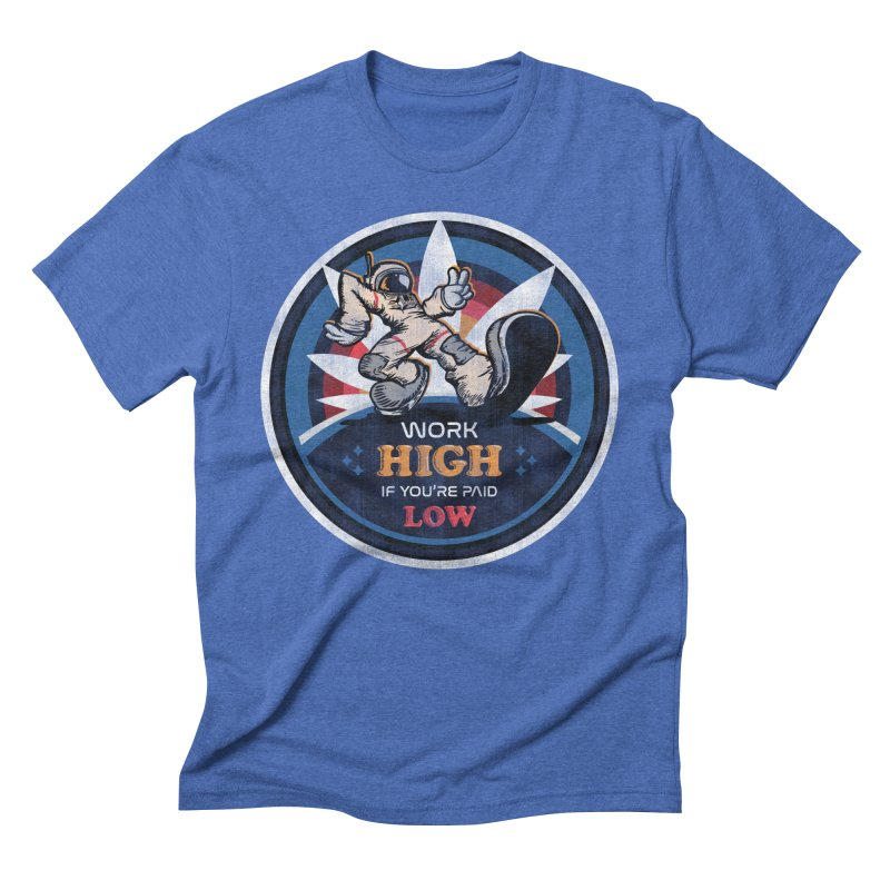 Keep On Grindin' Men's Triblend T-Shirt by Gamma Bomb - A Celebration of Imagination