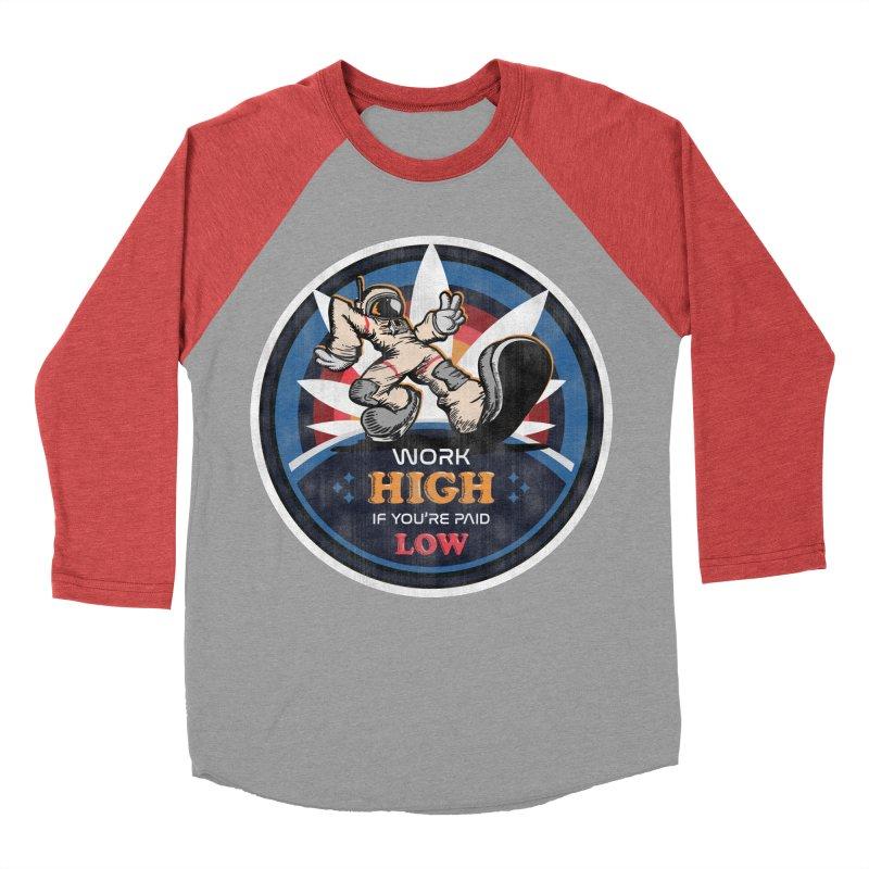 Keep On Grindin' Men's Baseball Triblend Longsleeve T-Shirt by Gamma Bomb - A Celebration of Imagination