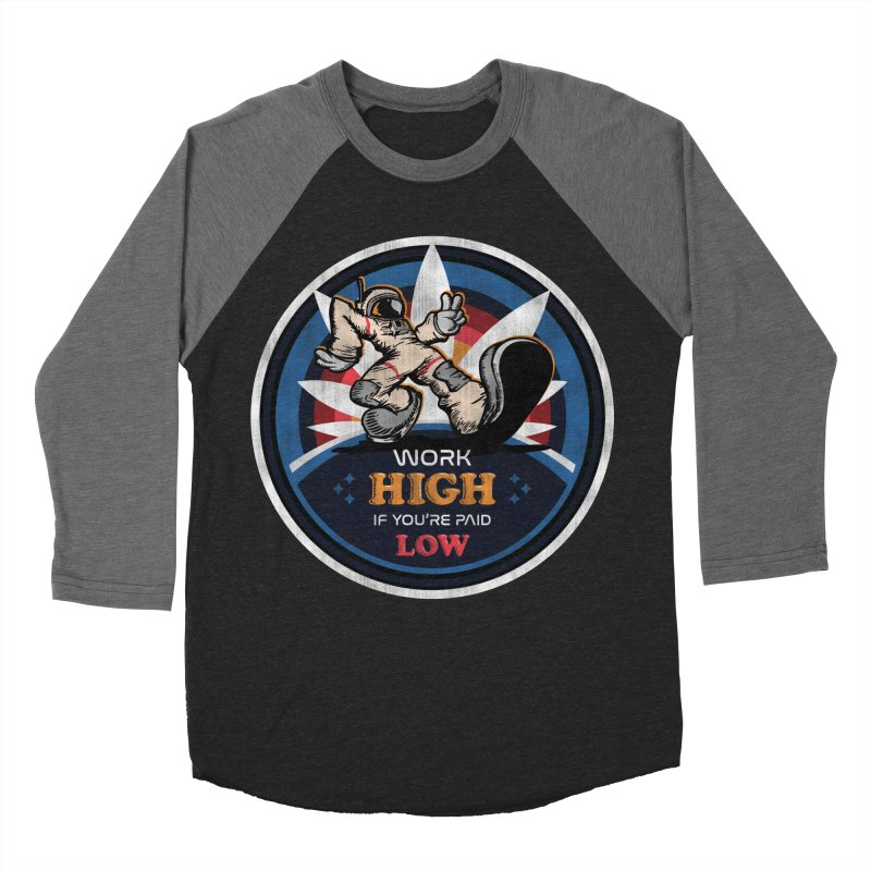 Keep On Grindin' Men's Baseball Triblend Longsleeve T-Shirt by Gamma Bomb - Explosively Mutating Your Look