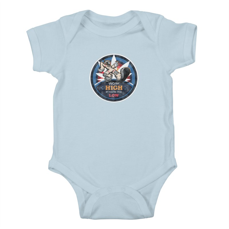 Keep On Grindin' Kids Baby Bodysuit by Gamma Bomb - Explosively Mutating Your Look