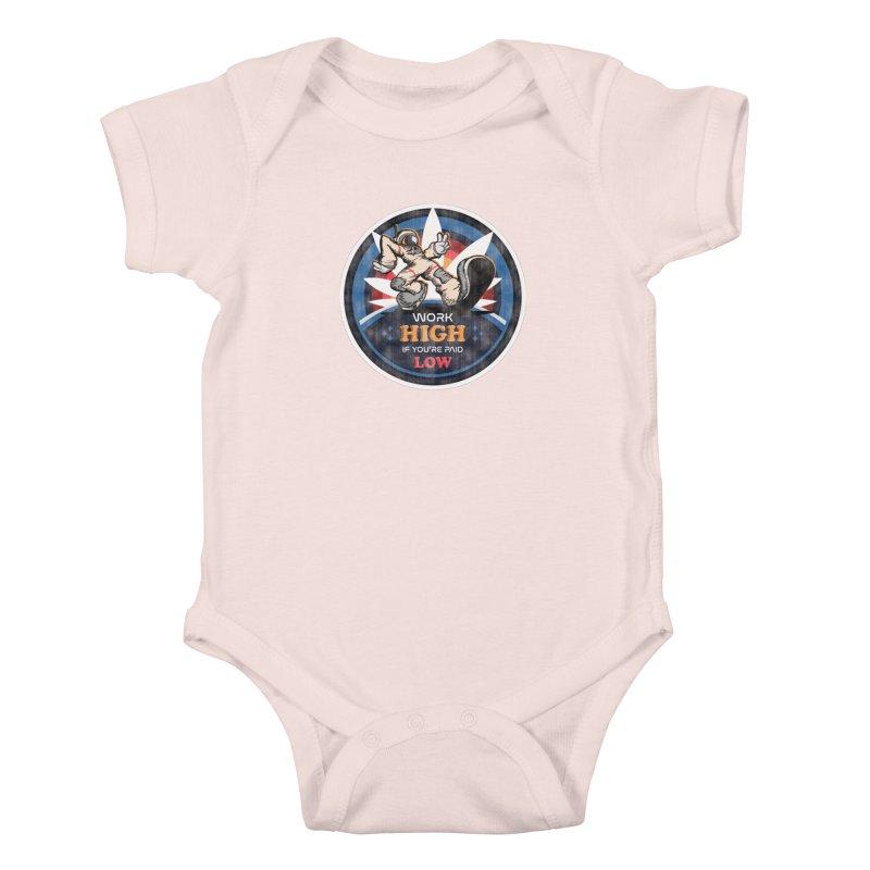 Keep On Grindin' Kids Baby Bodysuit by Gamma Bomb - A Celebration of Imagination