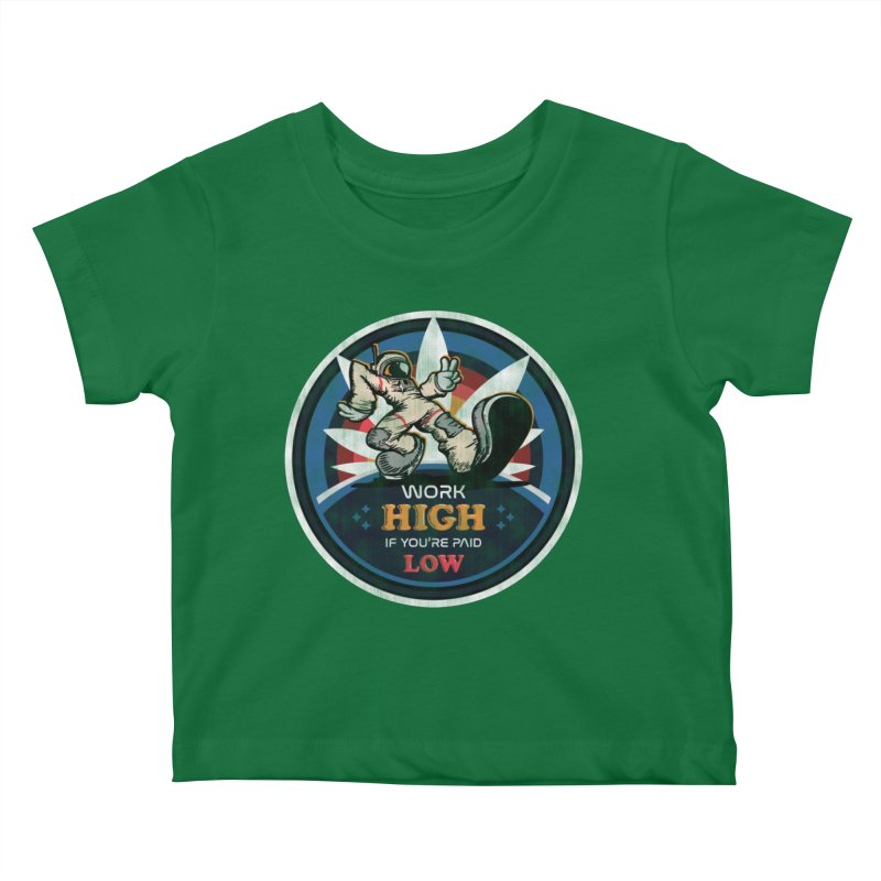Keep On Grindin' Kids Baby T-Shirt by Gamma Bomb - Explosively Mutating Your Look