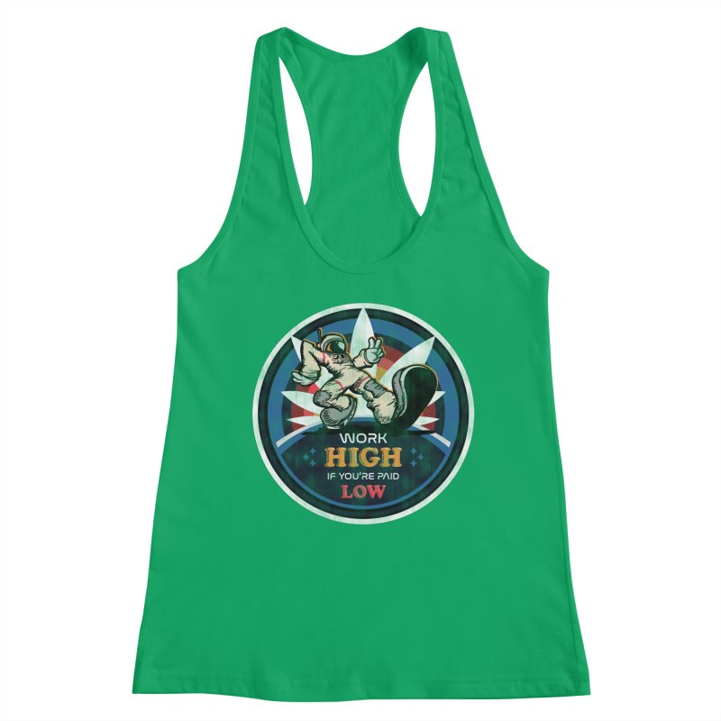 Keep On Grindin' Women's Tank by Gamma Bomb - Explosively Mutating Your Look