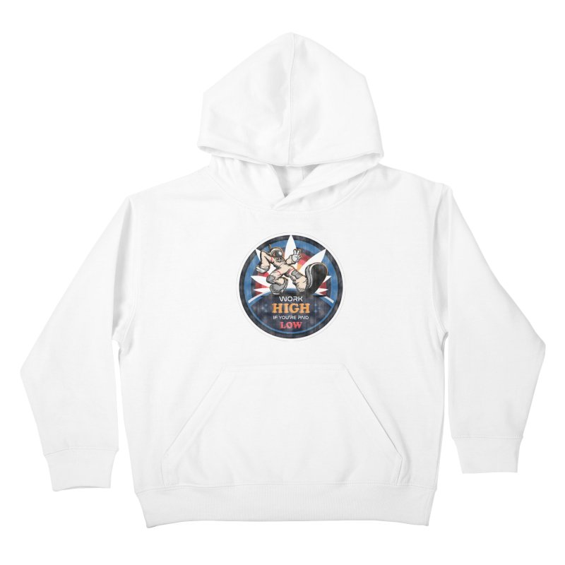 Keep On Grindin' Kids Pullover Hoody by Gamma Bomb - A Celebration of Imagination