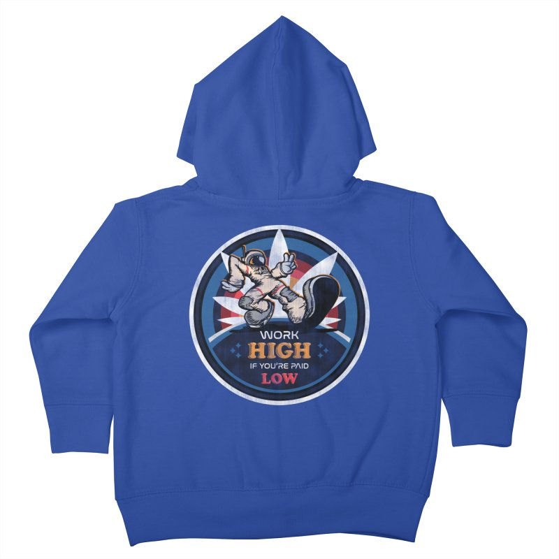 Keep On Grindin' Kids Toddler Zip-Up Hoody by Gamma Bomb - Explosively Mutating Your Look