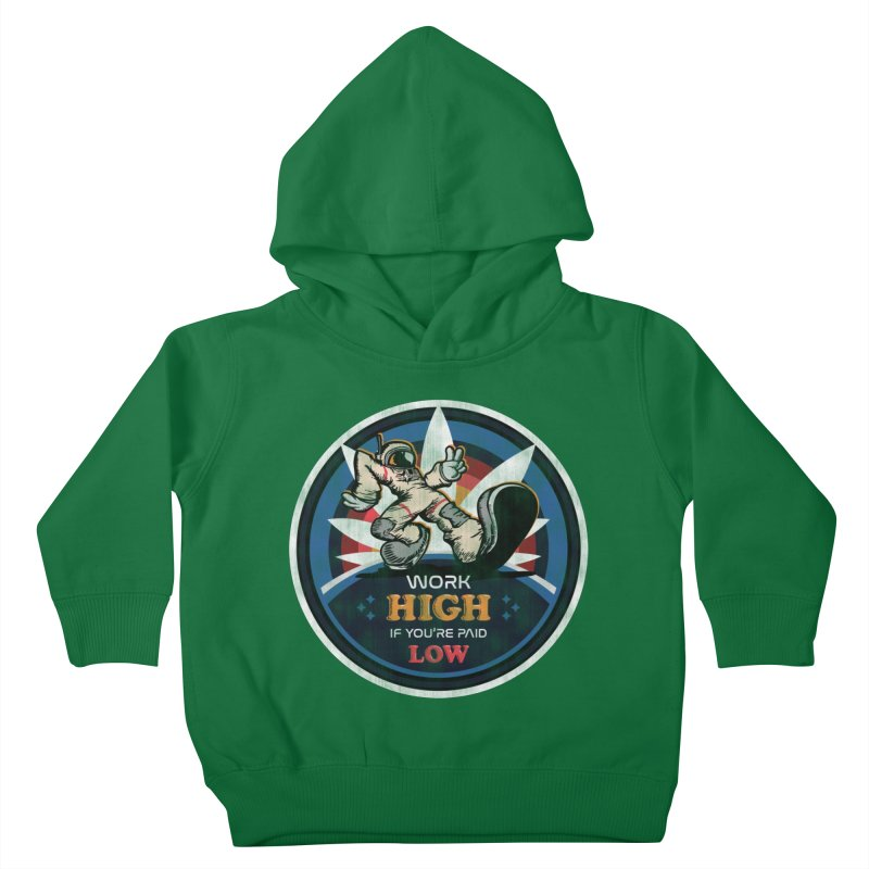 Keep On Grindin' Kids Toddler Pullover Hoody by Gamma Bomb - Explosively Mutating Your Look