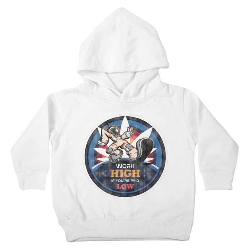 Keep On Grindin' Kids Toddler Pullover Hoody by Gamma Bomb - A Celebration of Imagination