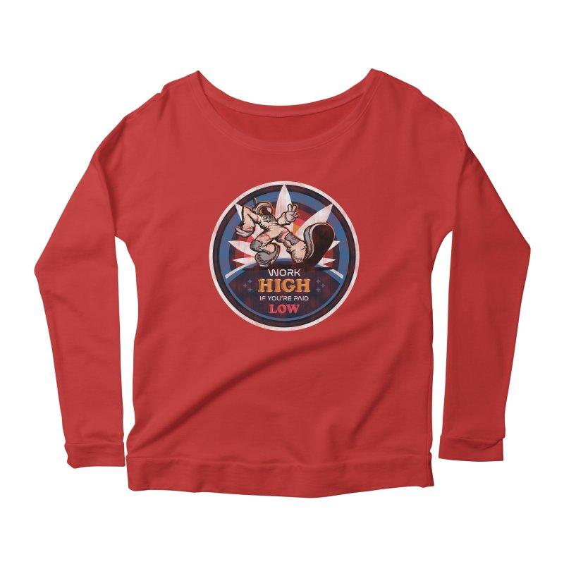 Keep On Grindin' Women's Scoop Neck Longsleeve T-Shirt by Gamma Bomb - A Celebration of Imagination