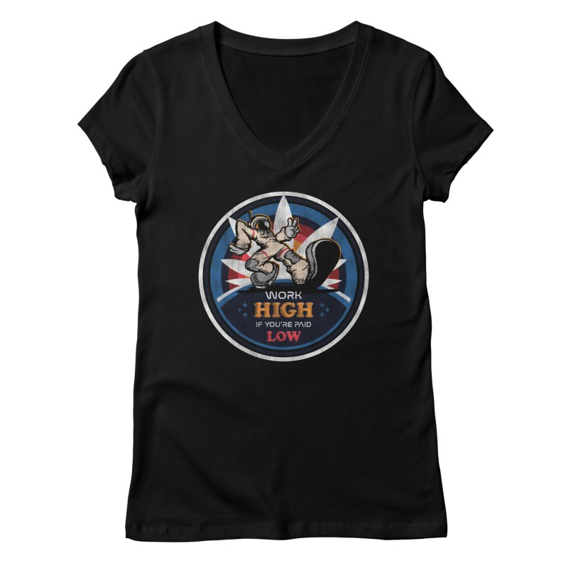 Keep On Grindin' Women's V-Neck by Gamma Bomb - Explosively Mutating Your Look