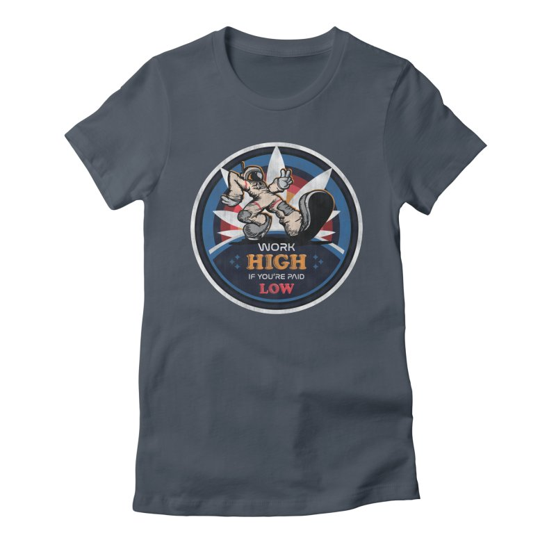 Keep On Grindin' Women's Fitted T-Shirt by Gamma Bomb - Explosively Mutating Your Look