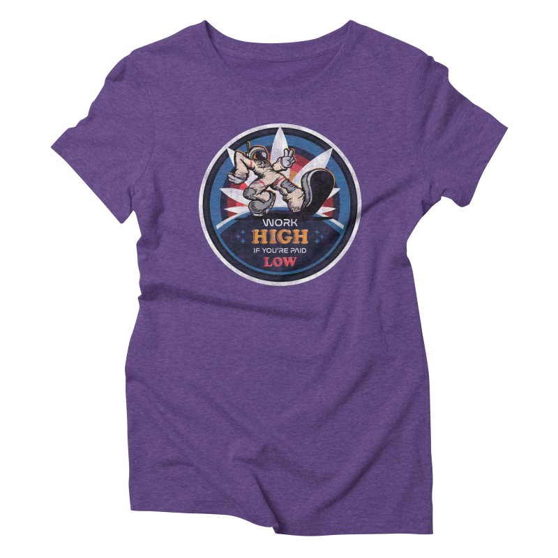 Keep On Grindin' Women's Triblend T-Shirt by Gamma Bomb - A Celebration of Imagination