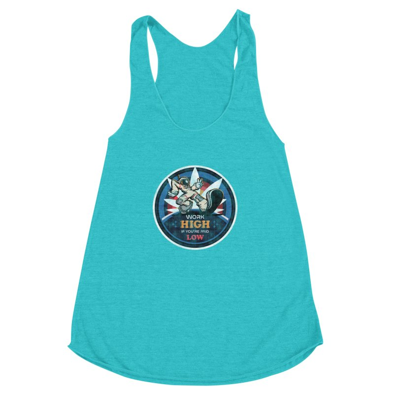 Keep On Grindin' Women's Racerback Triblend Tank by Gamma Bomb - Explosively Mutating Your Look