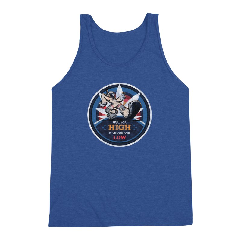 Keep On Grindin' Men's Triblend Tank by Gamma Bomb - A Celebration of Imagination