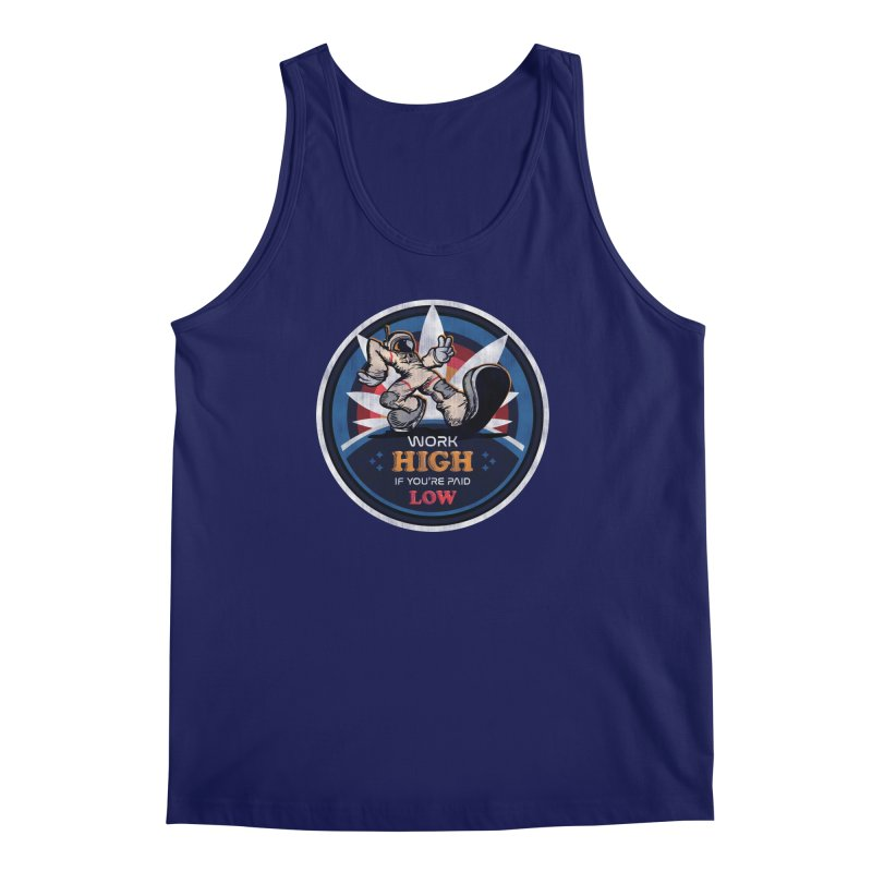 Keep On Grindin' Men's Regular Tank by Gamma Bomb - Explosively Mutating Your Look