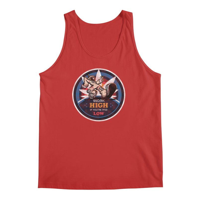 Keep On Grindin' Men's Regular Tank by Gamma Bomb - A Celebration of Imagination