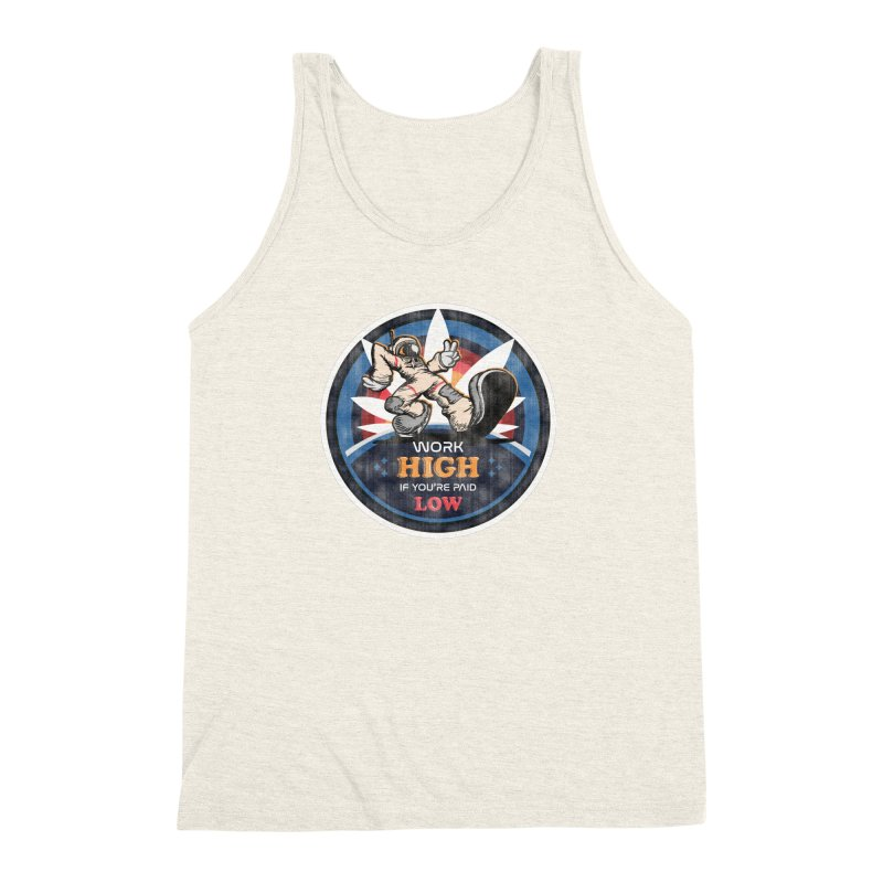 Keep On Grindin' Men's Triblend Tank by Gamma Bomb - Explosively Mutating Your Look