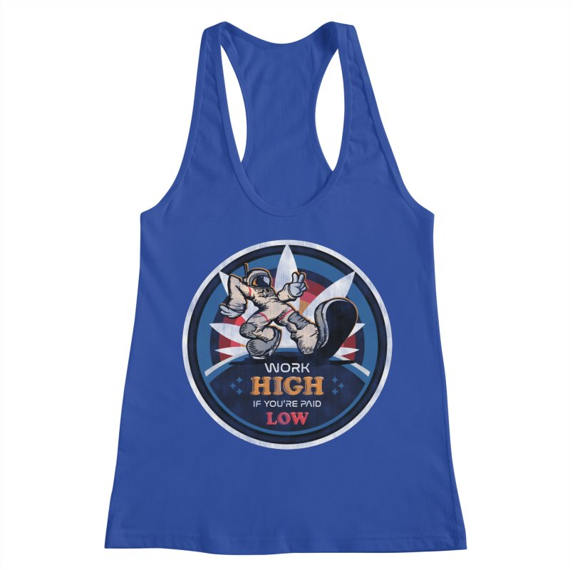 Keep On Grindin' Women's Racerback Tank by Gamma Bomb - Explosively Mutating Your Look