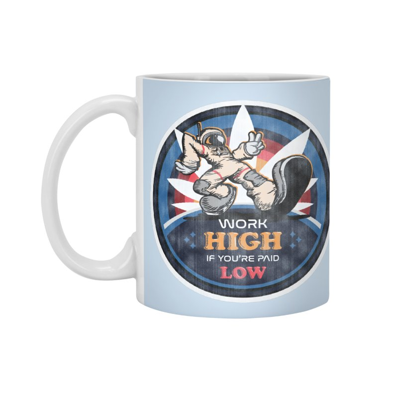 Keep On Grindin' Accessories Mug by Gamma Bomb - A Celebration of Imagination