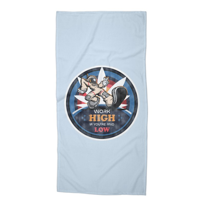 Keep On Grindin' Accessories Beach Towel by Gamma Bomb - Explosively Mutating Your Look