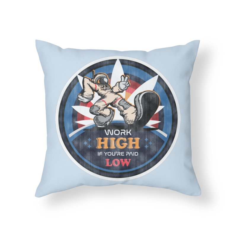 Keep On Grindin' Home Throw Pillow by Gamma Bomb - Explosively Mutating Your Look
