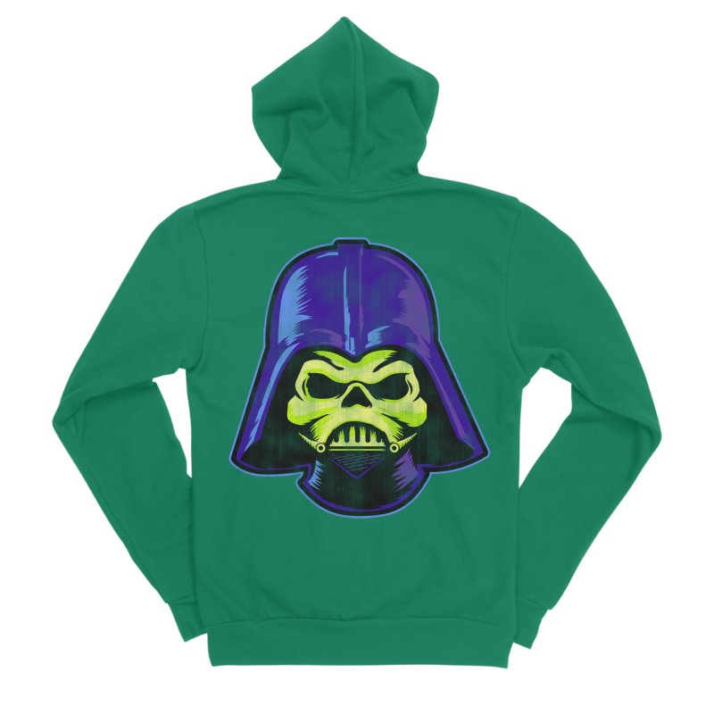 Skelevader Women's Sponge Fleece Zip-Up Hoody by Gamma Bomb - Explosively Mutating Your Look